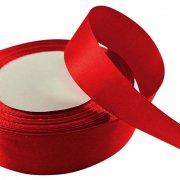 Satinband 24 mm - Red