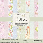 Paper Pack Reprint - Party Collection - 12x12 Tum