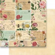 Papper Reprint - Flowers For You - Roses Postcard