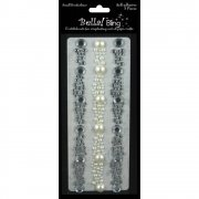 Rhinestone and Pearl - Exclusive Borders - 3 st