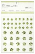 Rhinestones Flower Mint Green 44 st - Kaisercraft