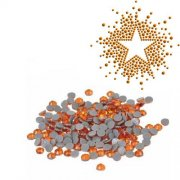 Silhouette Iron-On Crystals Orange 3mm - Ca 720 st