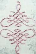 Rhinestones - Flourish Pink Swirl 2 st - Ruby Rock It