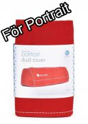 Silhouette Portrait Dammskydd - Dust Cover Red