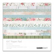 "Rose Avenue - Paper Pad 6.5""x6.5"" - Kaisercraft"