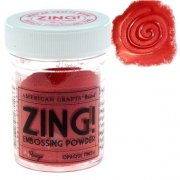 Embossingpulver Zing - Opaque Rouge