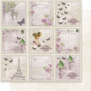 Papper Reprint - Lilac Paris - Tags 1