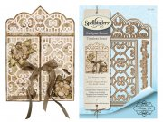 Spellbinders Timeless Heart - Double Heart Gatefold Card