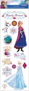 Glitter Stickers Disney - Frozen - Family Forever