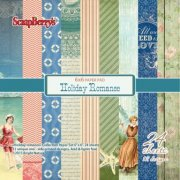 Paper Pad 6x6 - ScrapBerrys - Holiday Romance