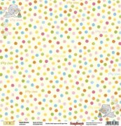 Papper ScrapBerrys - Sweet Dreams - Spots & Stripes