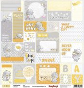 Papper ScrapBerrys - Sweet Dreams - Tags