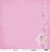 Papper ScrapBerrys - In Bloom - Pretty In Pink