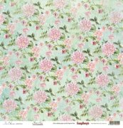 Papper ScrapBerrys - In Bloom - Flower Press