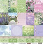 Papper ScrapBerrys - In Bloom - Cards 1