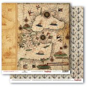 Papper ScrapBerrys - The Pirate's Treasure - Maps