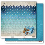 Papper ScrapBerrys - The Pirate's Treasure - Deep Blue Sea