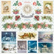 Papper ScrapBerrys - Winter Wonderland - Magical Wishes
