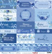 Papper ScrapBerrys - Rhapsody in Blue - Cards 1