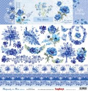 Papper ScrapBerrys - Rhapsody in Blue - Cards 2