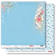 Papper ScrapBerrys - Garden of Delights - Blue Blossom