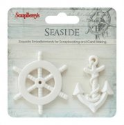 Polymer Figurer Seaside - Scrapberry's - 2 st