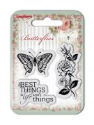 Clearstamp - Butterflies - The Best Things - Scrapberry's