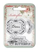 Clearstamp - Butterflies - Dream - Scrapberry's