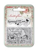 Clearstamp - Butterflies - Wings - Scrapberry's