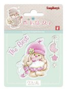 Clearstamp - My Little Star Girl - Scrapberry's