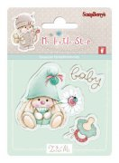Utgår! Clearstamp - My Little Star Baby - Scrapberry's