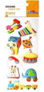 Stickers 3D - Scrap & Deco - Baby Toys