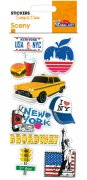 Stickers 3D - Scrap & Deco - New York