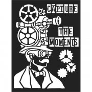 Schablon Stamperia - Capture the Moments