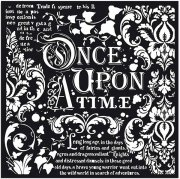 Schablon Stamperia - Once upon a time - 30x30 cm