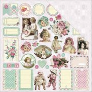 Papper ScrapBerrys - Mothers Treasure - Buttons & Bonnets