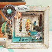 Clearstamp - Free Spirit - Scrapberry's