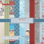 Paper Pad 12x12 - ScrapBerrys - Once Upon A Winter