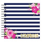 Scrapbook Album 8x8 - Nautical Flowers