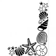 Embossing Folder - Seashells
