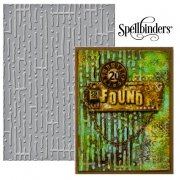 "Large Embossing Folder 5""x7"" - Spellbinder - Maze"