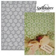 "Utgår! Large Embossing Folder 5""x7"" - Spellbinder - Bubble Wrap"