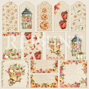 Papper Reprint - Shades of Fall - Tags