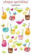 Epoxy Stickers - Doodlebug - Tropical Punch