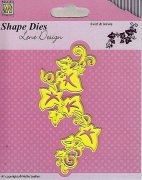 Shape Dies - Nellie Snellen - Swirls and Leaves
