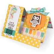 Dies Sizzix Bigz - Side Step Card