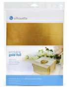 Silhouette Printable Guld Foil 8 st A4 ark