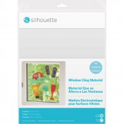 Silhouette Printable Window Cling - Clear