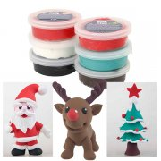 Silk Clay Lera 6-pack Christmas Set