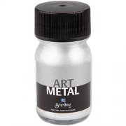 Art Metall färg - Silver - 30 ml